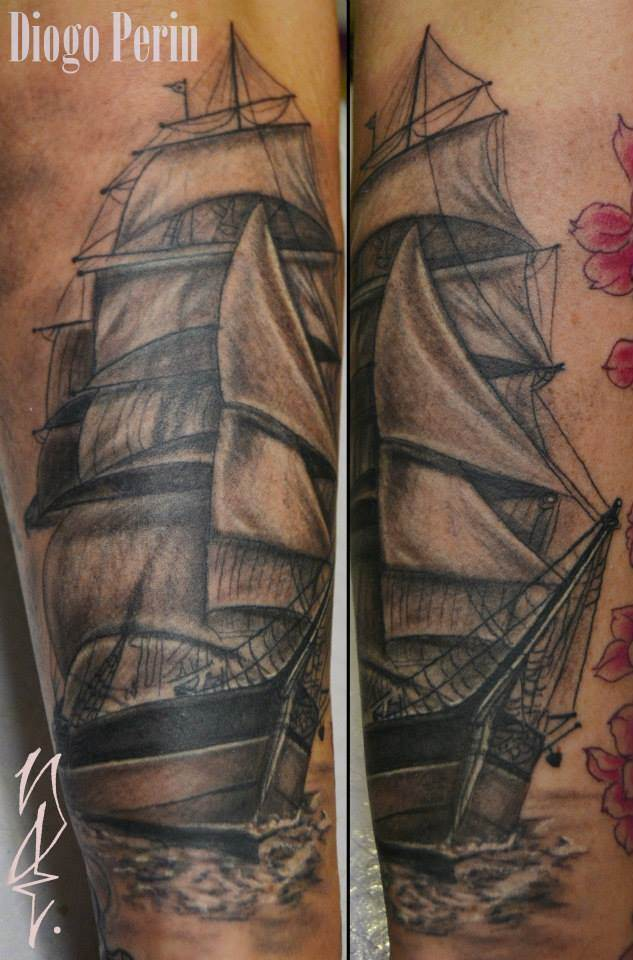 Tattoo Alicante - barco
