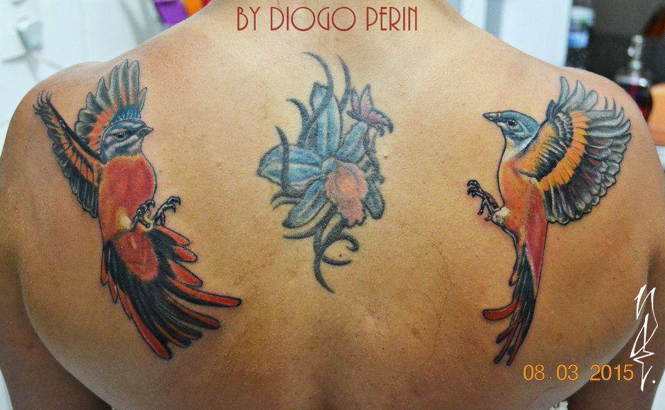 Tattoo Alicante - birds color