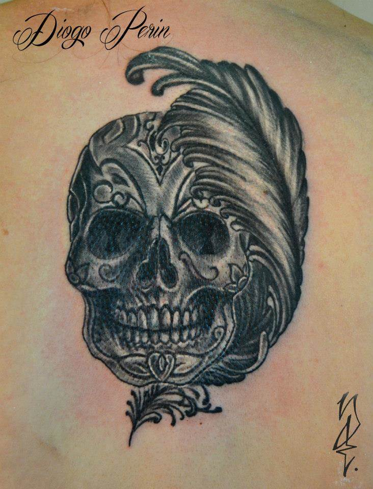 Tattoo Alicante - calavera mexicana
