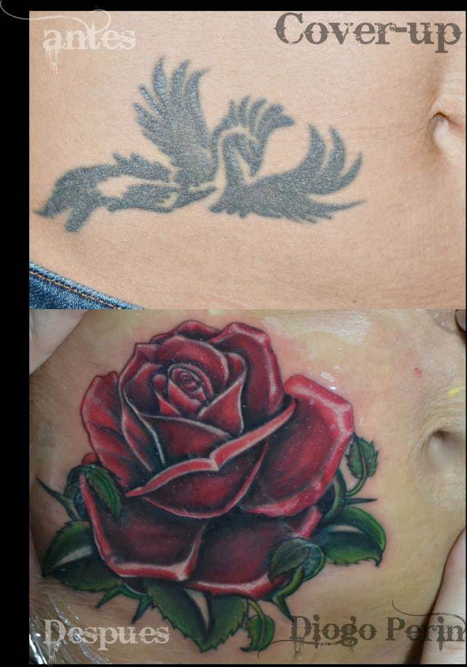 Tattoo Alicante - cover rosa roja