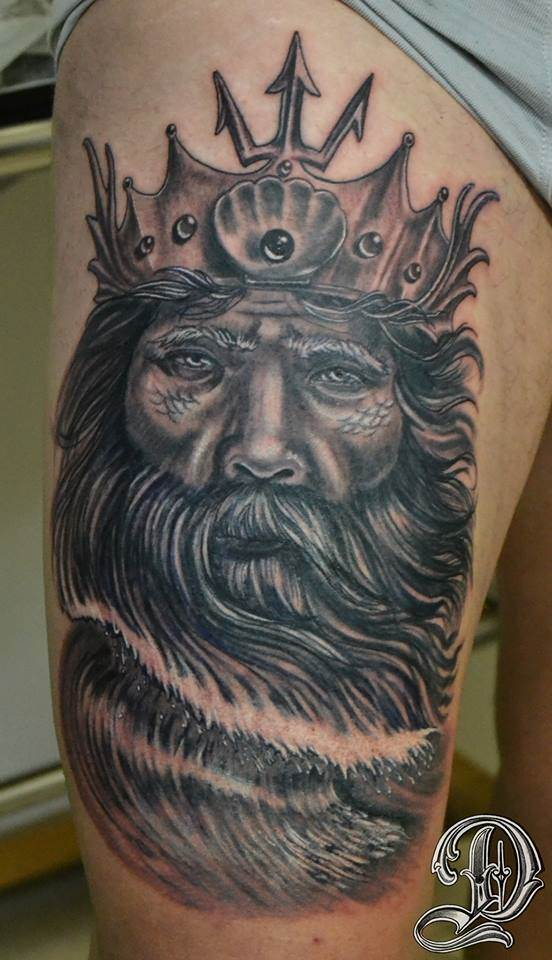 Tattoo Alicante - dios griego