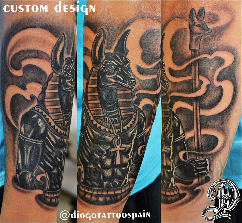 Tattoo Alicante - diseño propio faraón