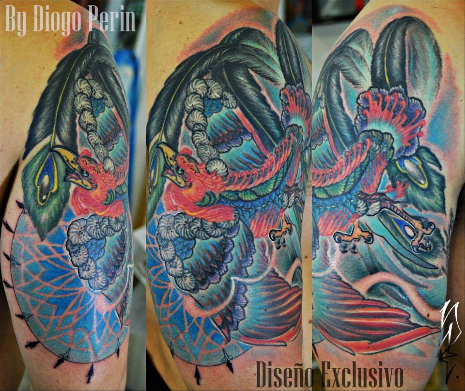 Tattoo Alicante - fenix color