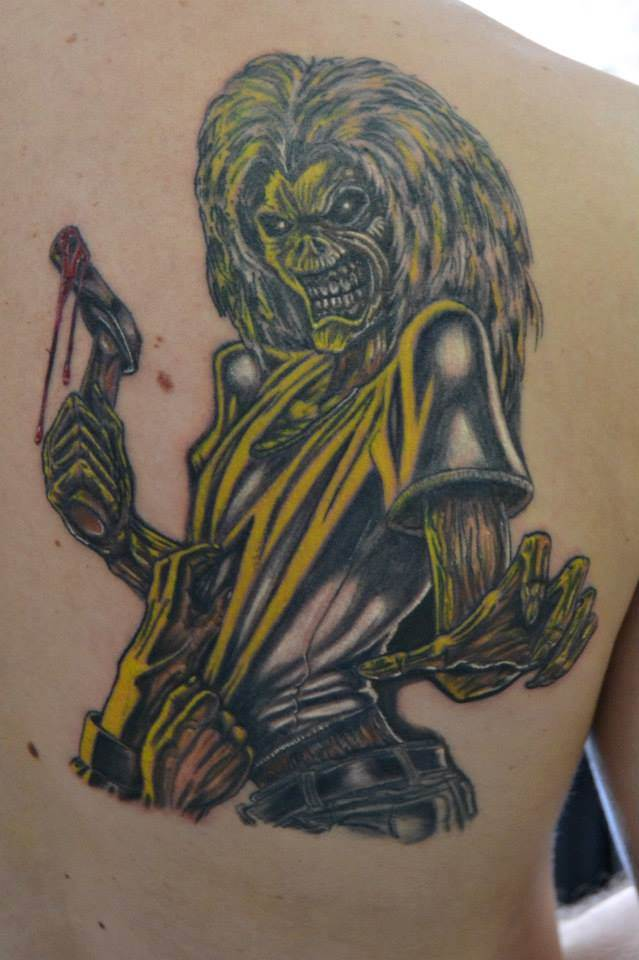 Tattoo Alicante - halloween zombi