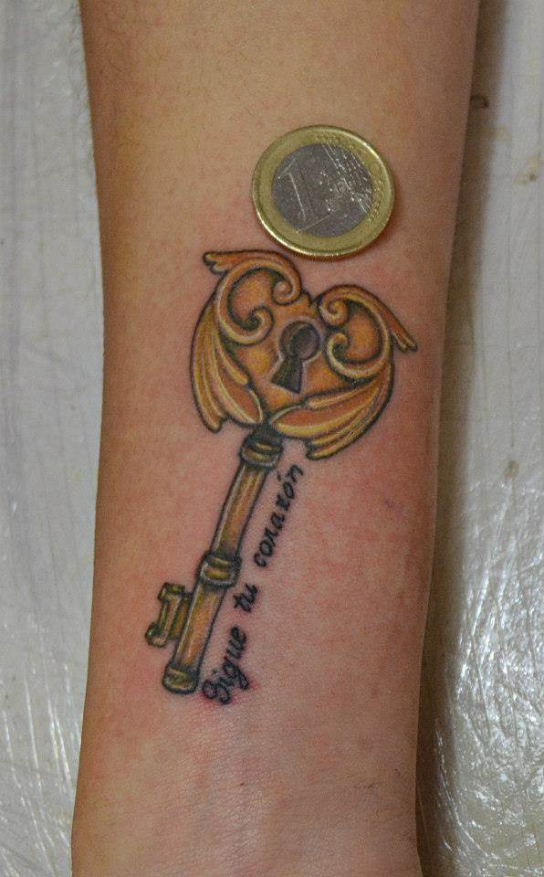 Tattoo Alicante - llave