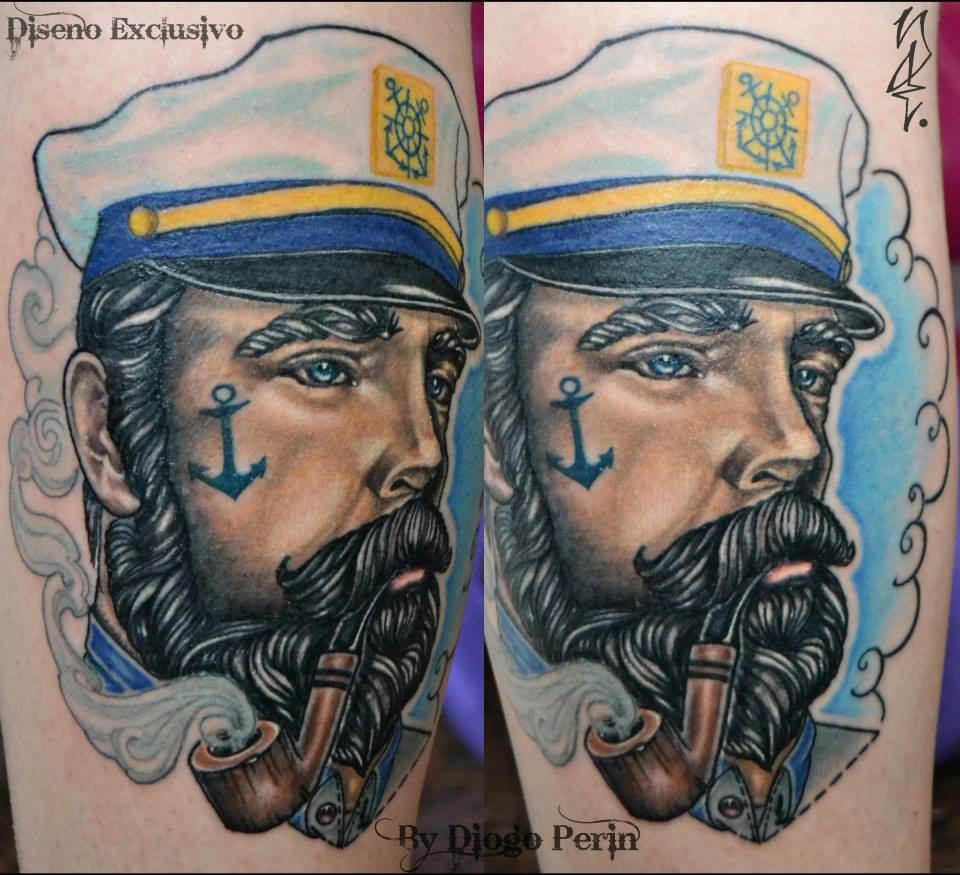 Tattoo Alicante - marinero diseño propio