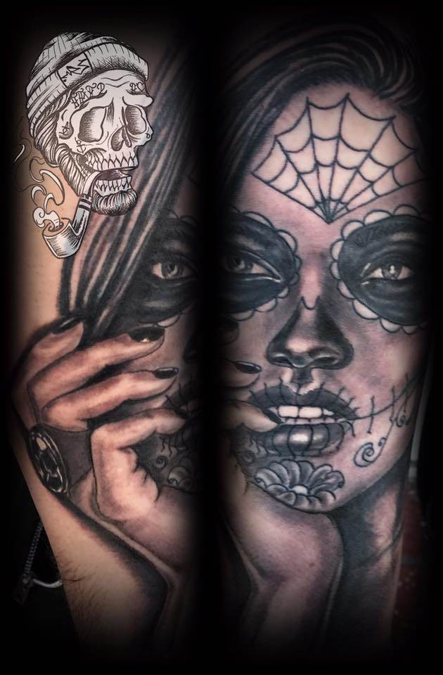 Tattoo Alicante - mexicano negro