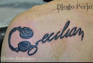 Tattoo Alicante - nombre dibujo