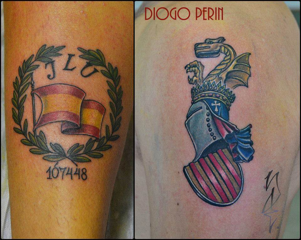 Tattoo Alicante - patriota