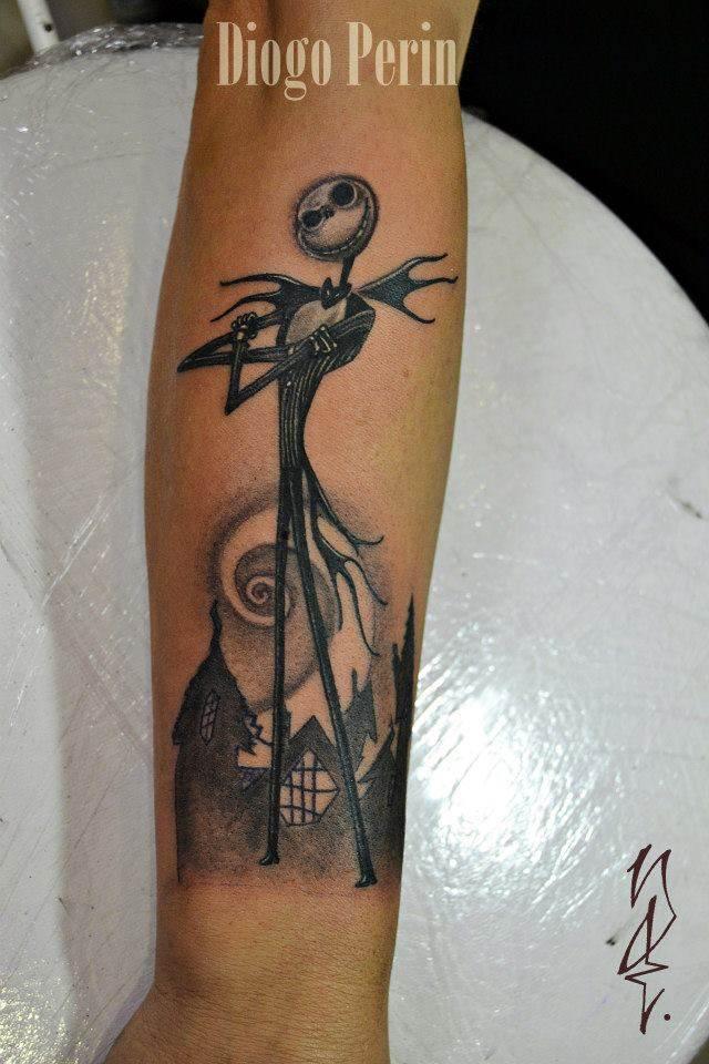 Tattoo Alicante - pesadilla navidad