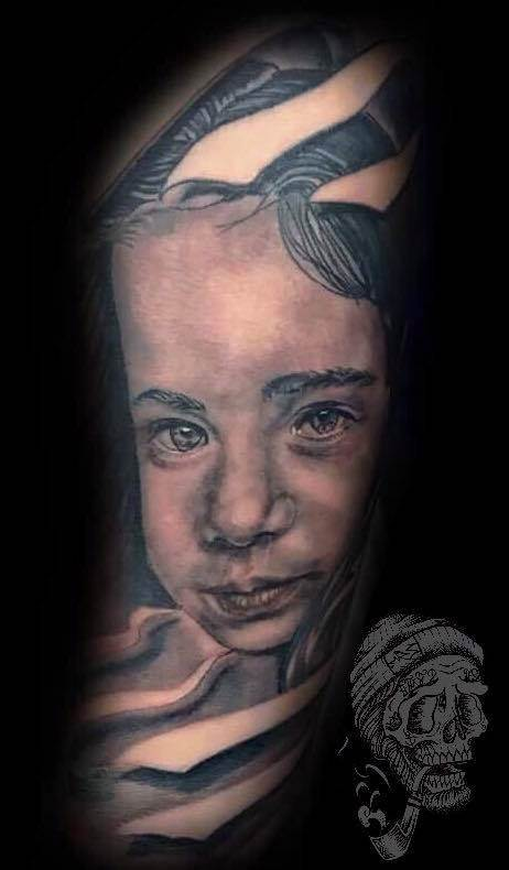 Tattoo Alicante - realista retrato