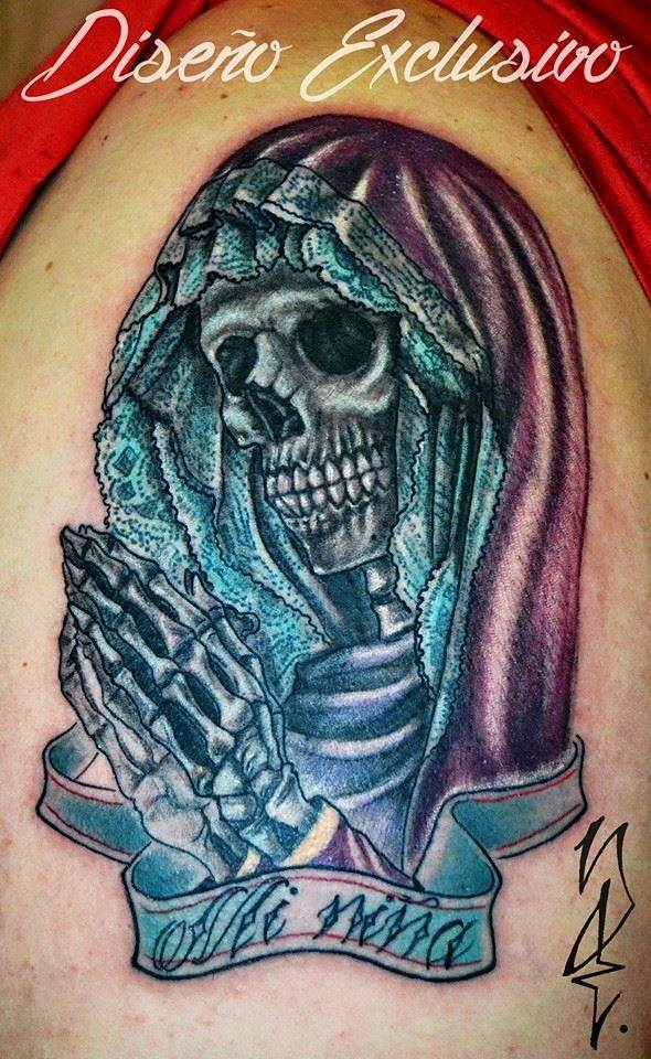 Tattoo Alicante - religion muerte