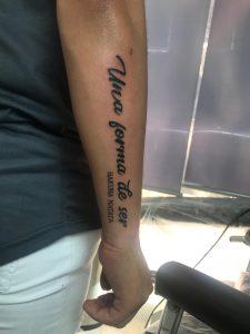 hakuna matata, lettering, frase, tattoo, tatuajes, alicante, santa pola