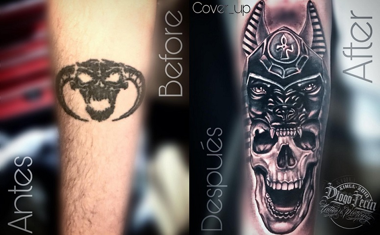 Cover up Anubis