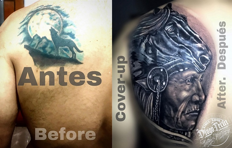 Cover up indio