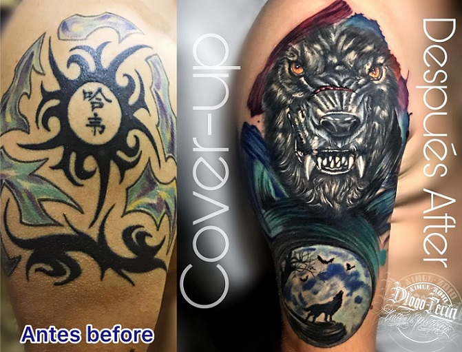 Cover up lobo